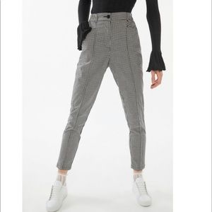 UO Gingham Tapered Pants